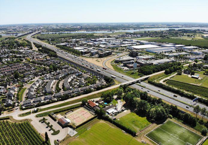 Verbreding A2 gaat ten koste van Waardenburg, vinden veel inwoners.
