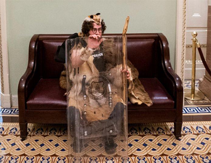 Aaron Mostofsky, assaillant du Capitole