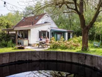 """Binnenkijken bij het groene paradijsje van Elke en Fré in het Pajottenland: """"Hier staan we op de rem, en dat doet zo'n deugd"""""""