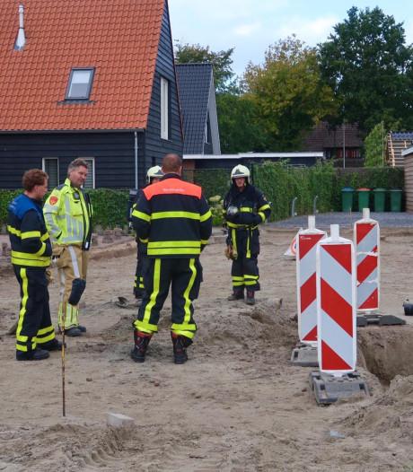 Gasleiding kapot getrokken bij graafwerkzaamheden in nieuwbouwwijk Bavel