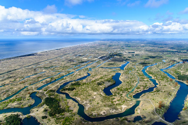 De Amsterdamse Waterleidingduinen, het duingebied tussen Zandvoort en Noordwijk, is ingericht voor de winning van drinkwater voor Amsterdam.
