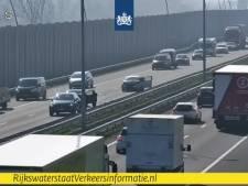 Ongeluk op A2 bij Eindhoven, file opgelost