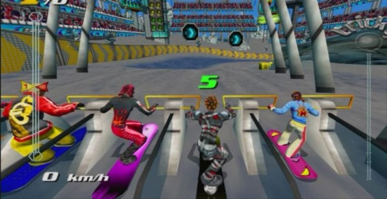 SSX Tricky Beeld EA Sports