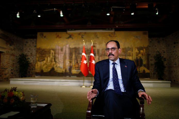 Ibrahim Kalin, woordvoerder van de Turkse president.