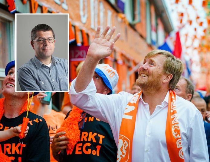 Gaf koning Willem-Alexander het verkeerde voorbeeld bij zijn bezoek aan de Marktweg?