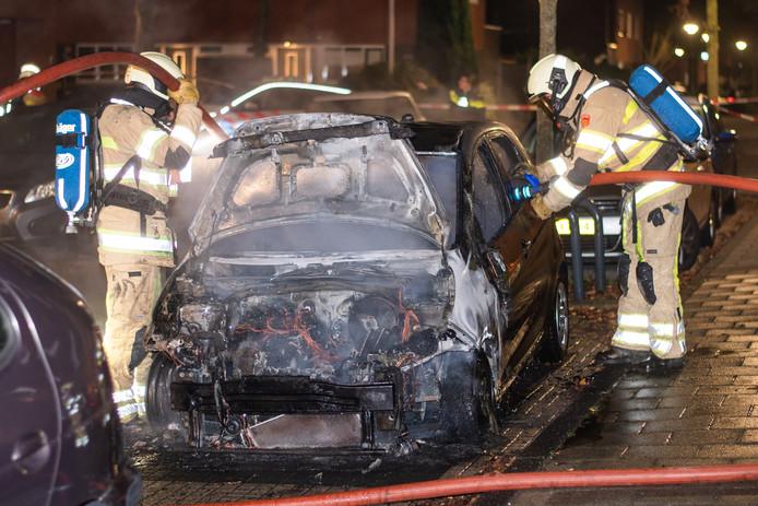 Opnieuw een Kia Picanto afgebrand in Woerden