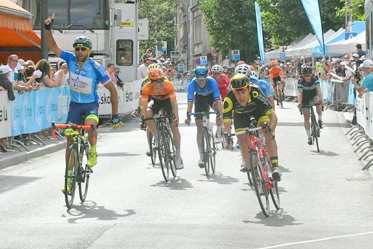 Vorig jaar won Andrea Pasqualon de Ronde van Luxemburg.