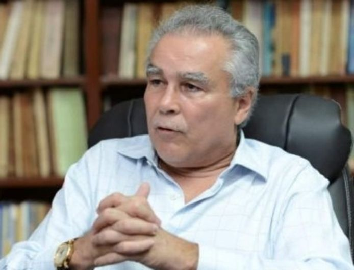 Presidentskandidaat Noel Vidaurre.