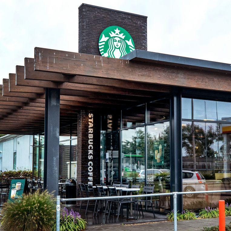 De belastingdeal tussen Starbucks en de Nederlandse staat was geen vorm van staatssteun, oordeelde het Gerecht van de Europese Unie dinsdag. Beeld Raymond Rutting / de Volkskrant