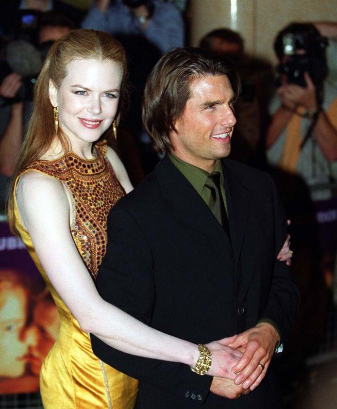 Tom Cruise et Nicole Kidman en 1999.