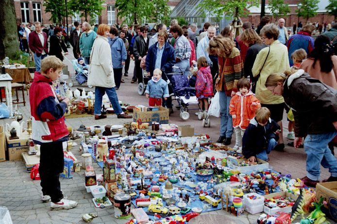 Archiefbeeld van de rommelmarkt in Turnhout