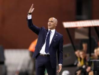 """Roberto Martínez strooit met lof, maar tempert ook: """"Die vijftien minuten na rust: I didn't like them"""""""