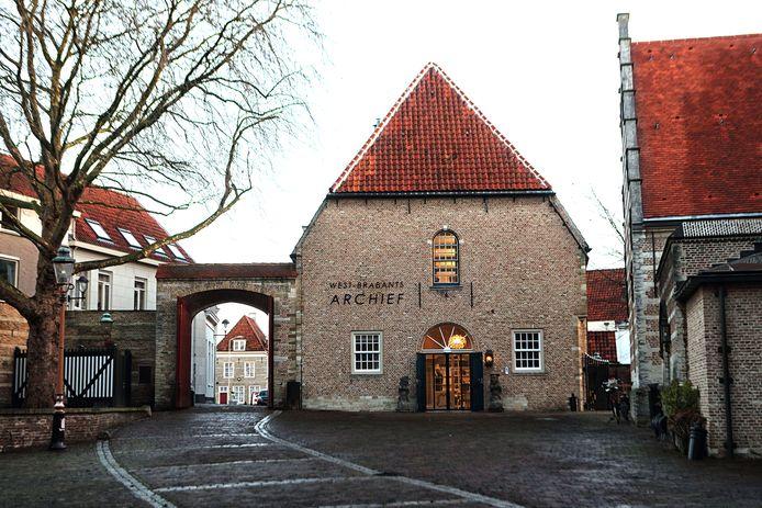 De buitenkant van het West-Brabants Archief.