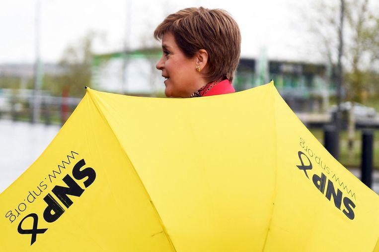 SNP-leider Nicola Sturgeon.  Beeld AFP