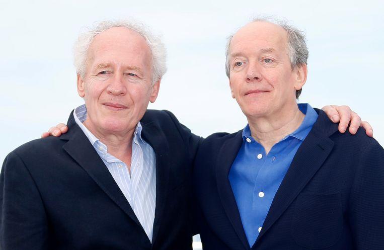 Jean-Pierre en Luc Dardenne, opnieuw in de running voor de Gouden Palm. Beeld EPA