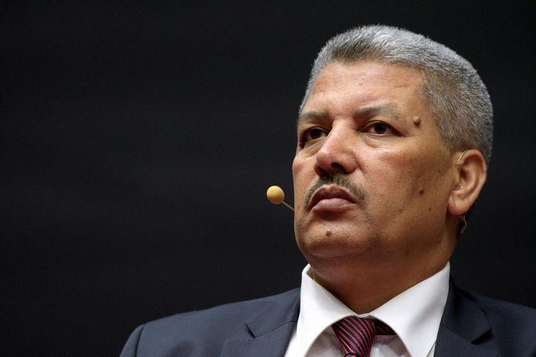 Salah Echallaoui, vicevoorzitter van de Moslimexecutieve. Beeld photo_news