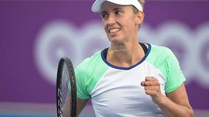 Mertens klopt Pliskova en haalt finale in Praag, Halep wellicht tegenstander