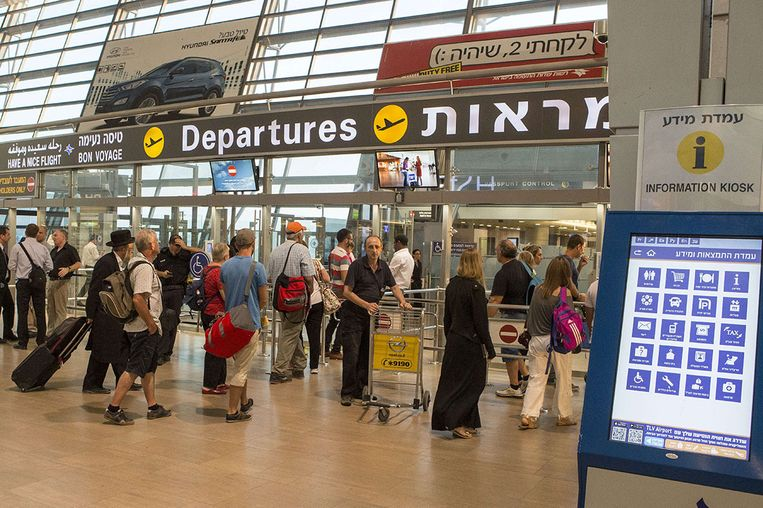 Luchthaven Ben Gurion Beeld afp