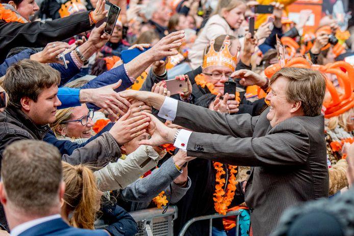 Koning Willem-Alexander spreekt ook de jongere generaties aan.