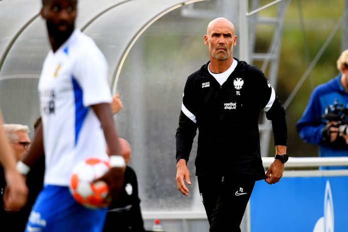 Thomas Letsch, trainer van Vitesse.