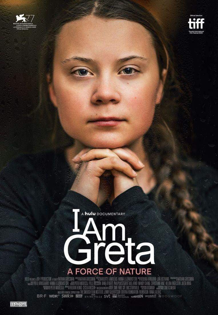 Affiche van de film 'I Am Greta'. Beeld rv
