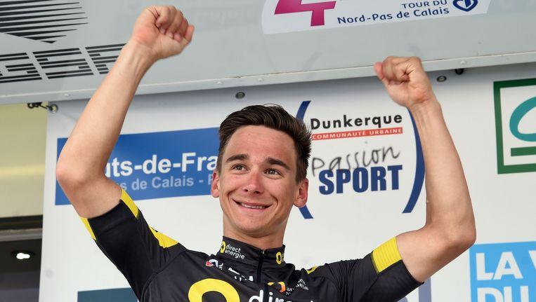 Bryan Coquard won eerder op het jaar ook al de Vierdaagse van Duinkerke Beeld AFP