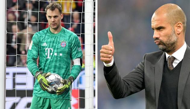 Pep Guardiola a eu Manuel Neuer sous ses ordres pendant trois saisons, entre 2013 et 2016