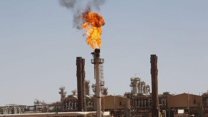 Olieverwerkingsfabrieken in Amenas, nabij de Algerijnse hoofdstad Algiers.