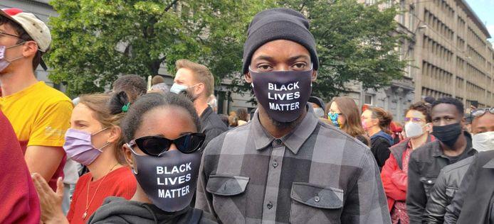 Black Lives Matter in Brussel.