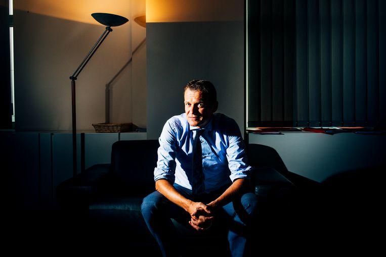 Paul Van Tigchelt is directeur van het OCAD, het orgaan dat het dreigingsniveau in ons land bepaalt. Beeld Stefaan Temmerman