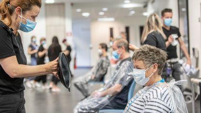 220 zorgverleners laten haren knippen door kappers in het UZA