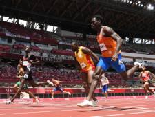 LIVE   Taymir Burnet overtuigend naar halve finales op 200 meter