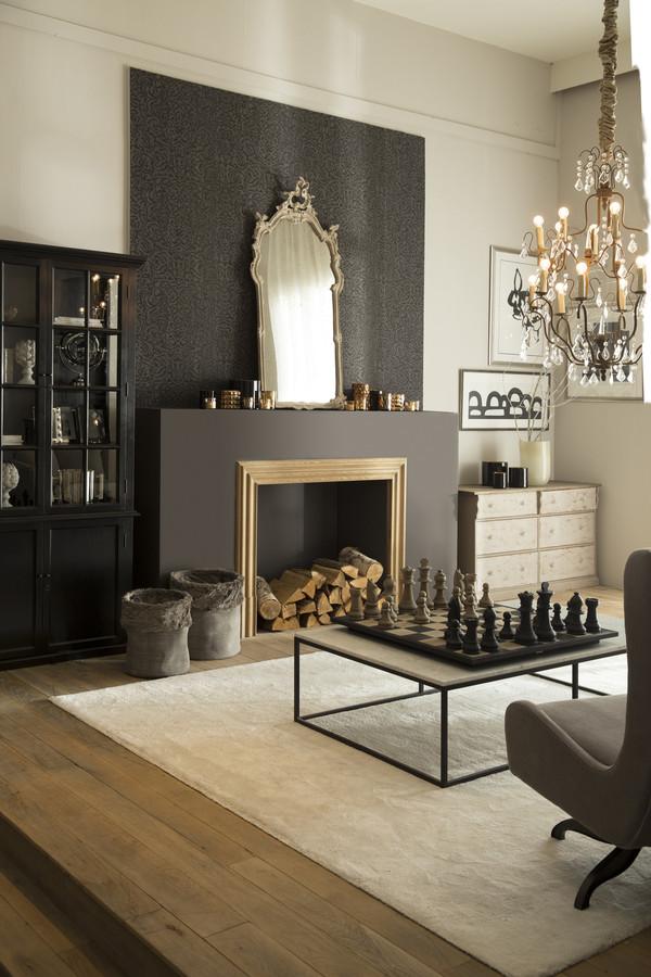 Zwart en diepgrijs in het glamoureuze BlackTie-interieur