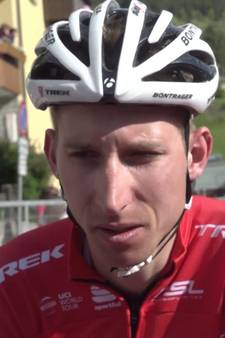 Interview met Mollema na finish