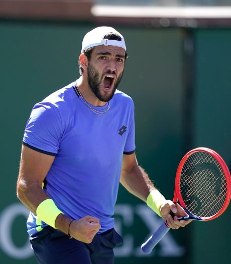 Berrettini naar ATP Finals in Turijn: 'Zo  blij dat ik mag meedoen'