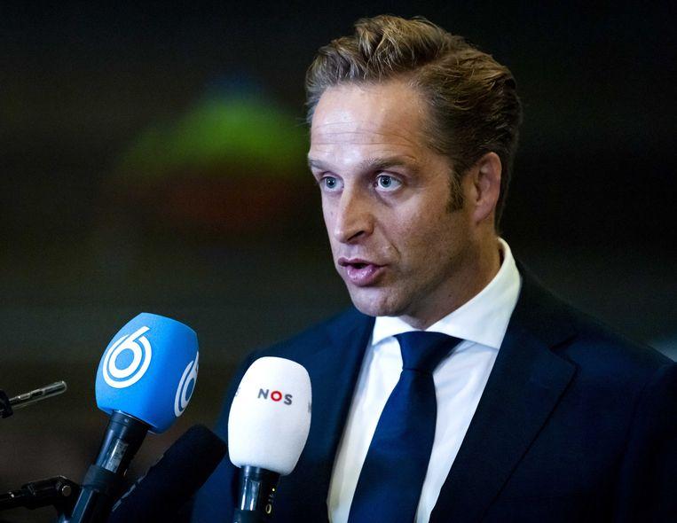 Minister Hugo de Jonge. Beeld ANP