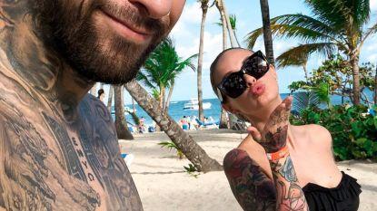 Pommeline en Fabrizio oefenen nu al hun huwelijksreis
