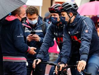 """Giro-baas Vegni over inkorting etappe: """"Willen dat de renners veilig in Milaan komen"""""""