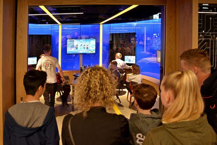 """LevelUp vorig jaar in de LocHal. ,,Veel ouders zien gamen als kommer en kwel."""""""