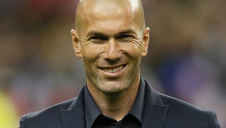 Zidane. Beeld EPA