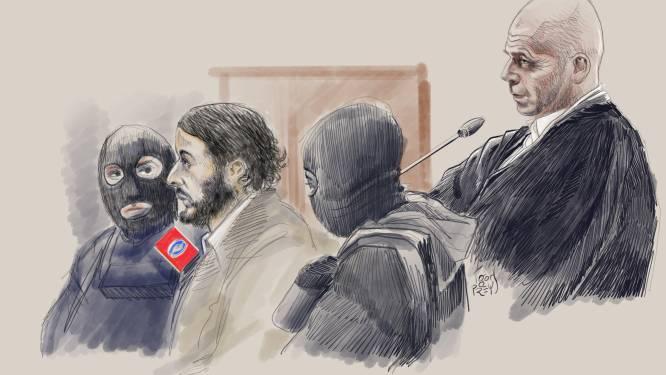 Salah Abdeslam komt niet naar vonnis over schietpartij in Vorst