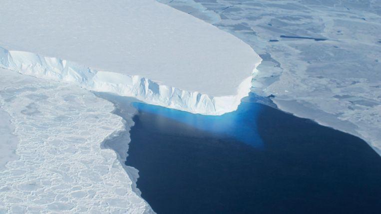Een ijskap op West-Antarctica Beeld REUTERS