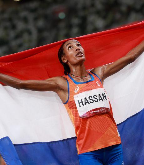 Dat Sifan Hassan van wereldklasse is, hadden ze in Arnhem al snel door:  'Daar geloofden we echt in'