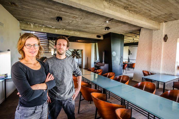 Gudrun Serruys en Tijl De Vriendt van Water en Vuur in Diksmuide