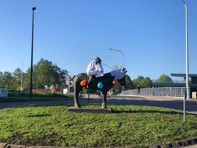 Het standbeeld van Pallieter en Marieke.