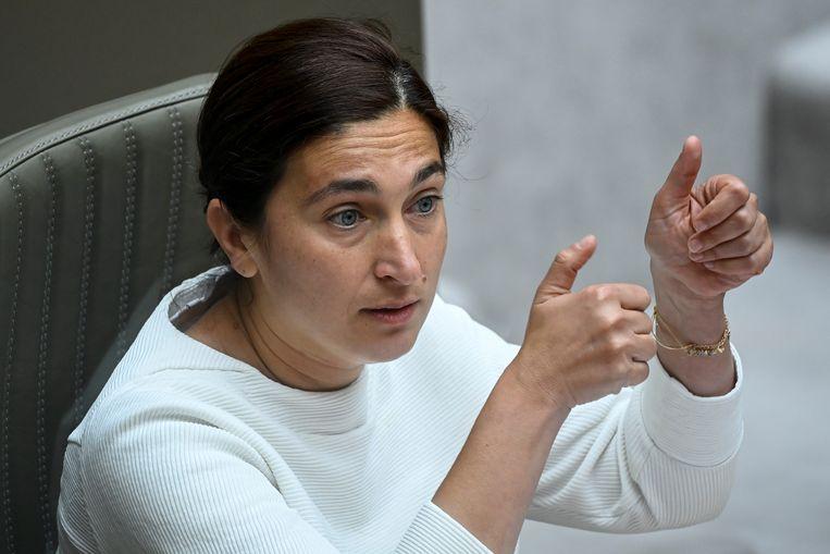 N-VA-minister Zuhal Demir. Beeld BELGA