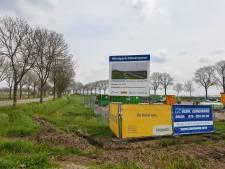 Eerste contouren Windpark Klaverspoor zichtbaar in Zwaluws landschap