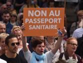 40.000 manifestants contre le pass sanitaire en France