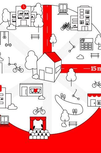 """De stad na corona wordt een 15-minuten-stad: """"Dat is het lichtpunt van de hele crisis: iederéén wil nu een groene en fietsvriendelijke stad met fijne buurten"""""""