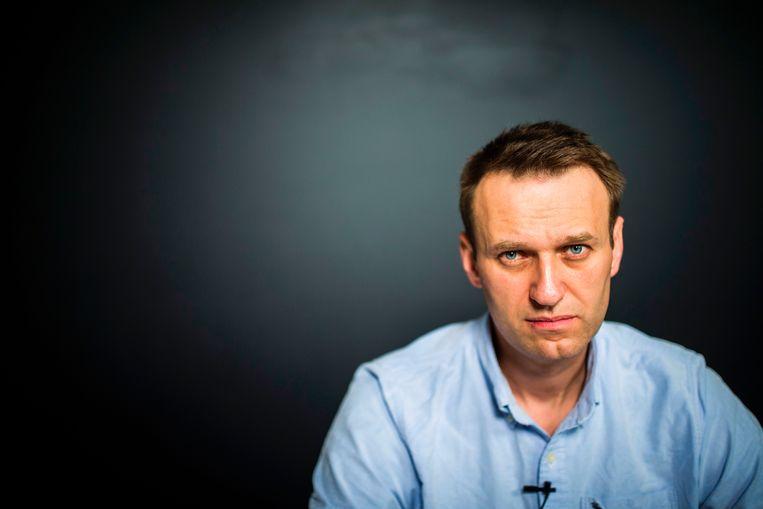 Oppositieleider Aleksej Navalny. Beeld AFP